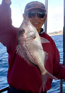 Chinaman with snapper